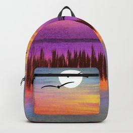Pelicans on the Beach Backpack