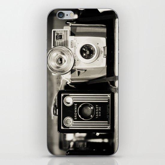 A pair of Kodak Brownies iPhone & iPod Skin