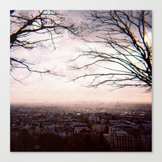View from Sacré-Cœur, Paris Canvas Print