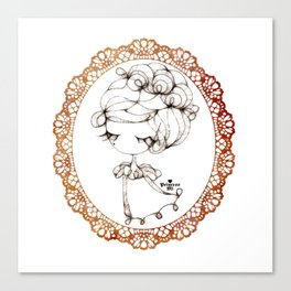 princessmi - elegant girl Canvas Print