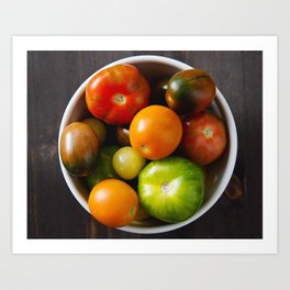 summer produce Art Print