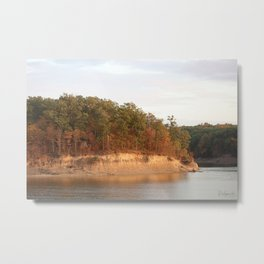 Wolf Creek Park Bluff Metal Print