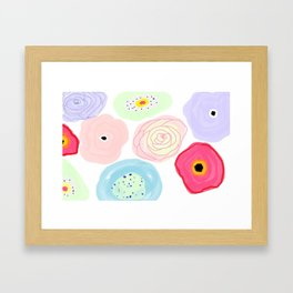 Pick n mix Framed Art Print