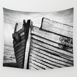 An old wreck Wall Tapestry
