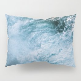 Wave in Ireland during sunset - Oceanscape Pillow Sham