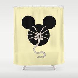 > facehugger Shower Curtain
