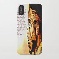 kendrick lamar iPhone & iPod Cases featuring Kendrick Lamar by Monroe the artist