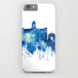 Chennai Tamil Nadu Skyline Blue iPhone Case