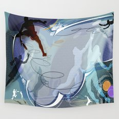 Frisbee Wall Tapestry