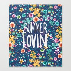 Summer Lovin Canvas Print