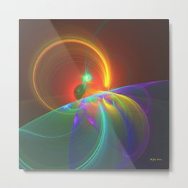 Horizon Eclipse Metal Print
