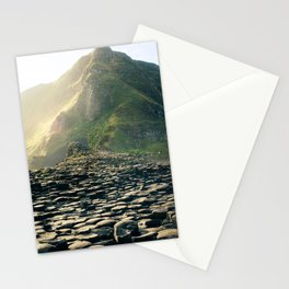 Madeira stone path leading into the mountains Stationery Cards