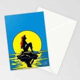 Mermaid | Pop Art Stationery Cards