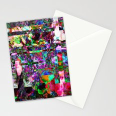 Vertical Floral Stationery Cards