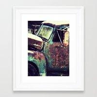 truck Framed Art Prints featuring truck by toria