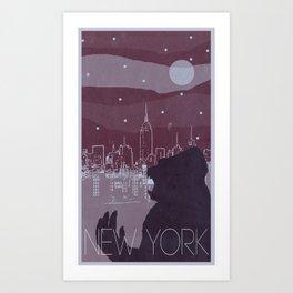 Every City Has Its Creature - New York Art Print