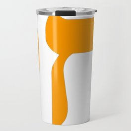 Chai חַי II (Orange) Travel Mug