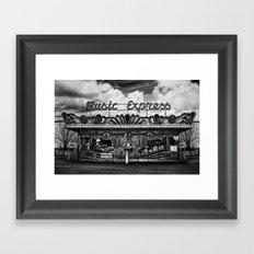 Music Express Framed Art Print