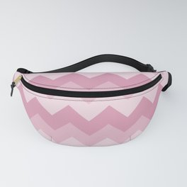 Pink Chevron Pattern Design Fanny Pack