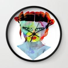 girl_190712 Wall Clock