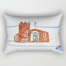 Igreja Nossa Senhora do Rosário de Fátima Rectangular Pillow