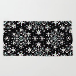 Snowflake Lace Beach Towel