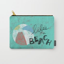 Life's a Beach Carry-All Pouch