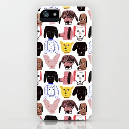 My Doggy Friends iPhone Case