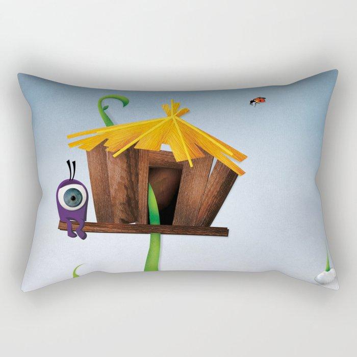 The Eyez - Seed Rectangular Pillow