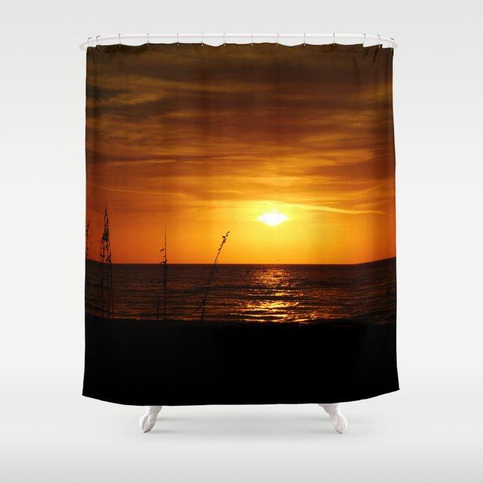 Romantic Sunset Shower Curtain