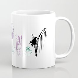 'Welcome to the Mighty Nein!' (Nott version) Coffee Mug