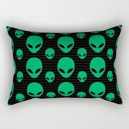 Aliens Exist Rectangular Pillow