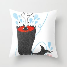 SALVAJEANIMAL headless VI Throw Pillow