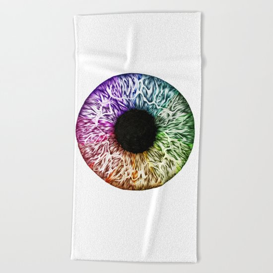 Eye of the World Beach Towel