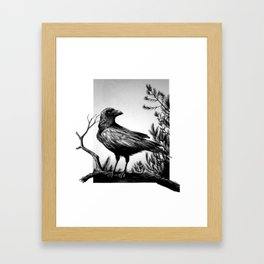 Corbeau Framed Art Print