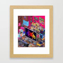 Edge Retro Cover Reboot... Framed Art Print