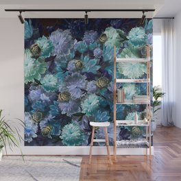 """""""Baroque floral with bugs"""" Wall Mural"""