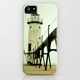 Manistee Light iPhone Case