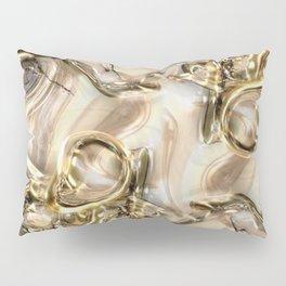 GOLD SWIRLS Pillow Sham