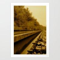 railroad 3 Art Print