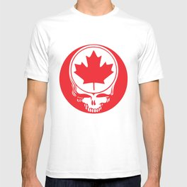 Canadian Steal Your Face (variation#4) T-shirt