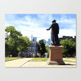 Battle of Bunker Hill, Boston, MA Canvas Print