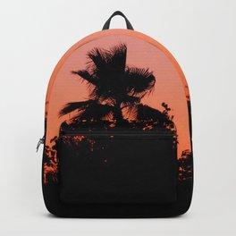 Palm Trees on Purple Backpack