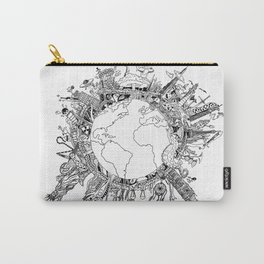 Mad World  Carry-All Pouch