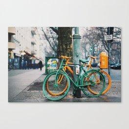 blame it on the rain Canvas Print