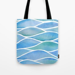 Lake Surface Tote Bag