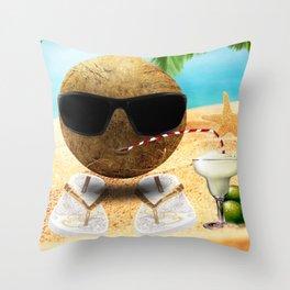 Funny Coco Throw Pillow
