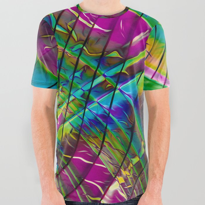 Planetary All Over Graphic Tee