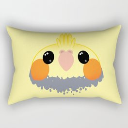 Cockatiel Birb Baby – v02 Rectangular Pillow