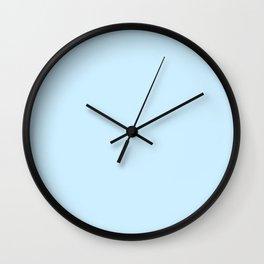 Retro Pastel Blue Wall Clock